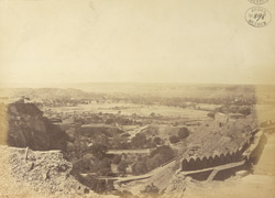 View looking east from the top of the Fort, Gwalior